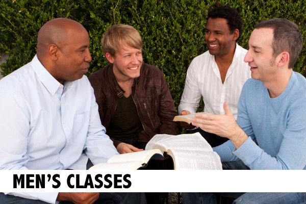 Adult Discipleship || Men's-Classes