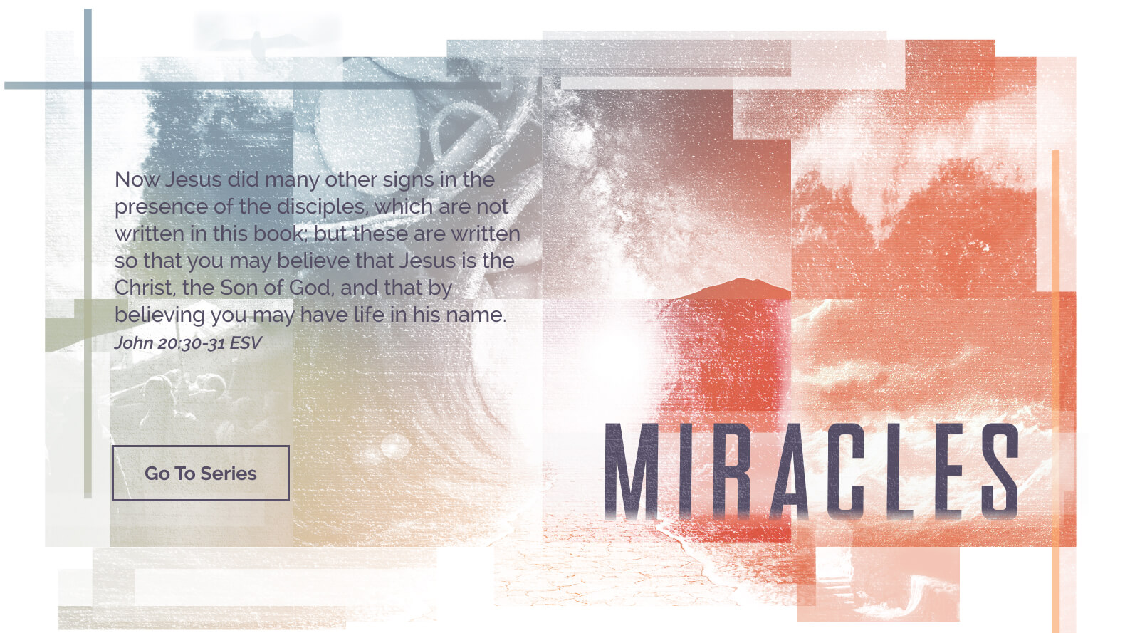 Miracles-Sermon-Series