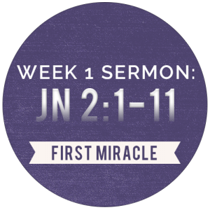 Miracles: Week-1-Sermon