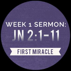 Miracles: Week-1-Sermon