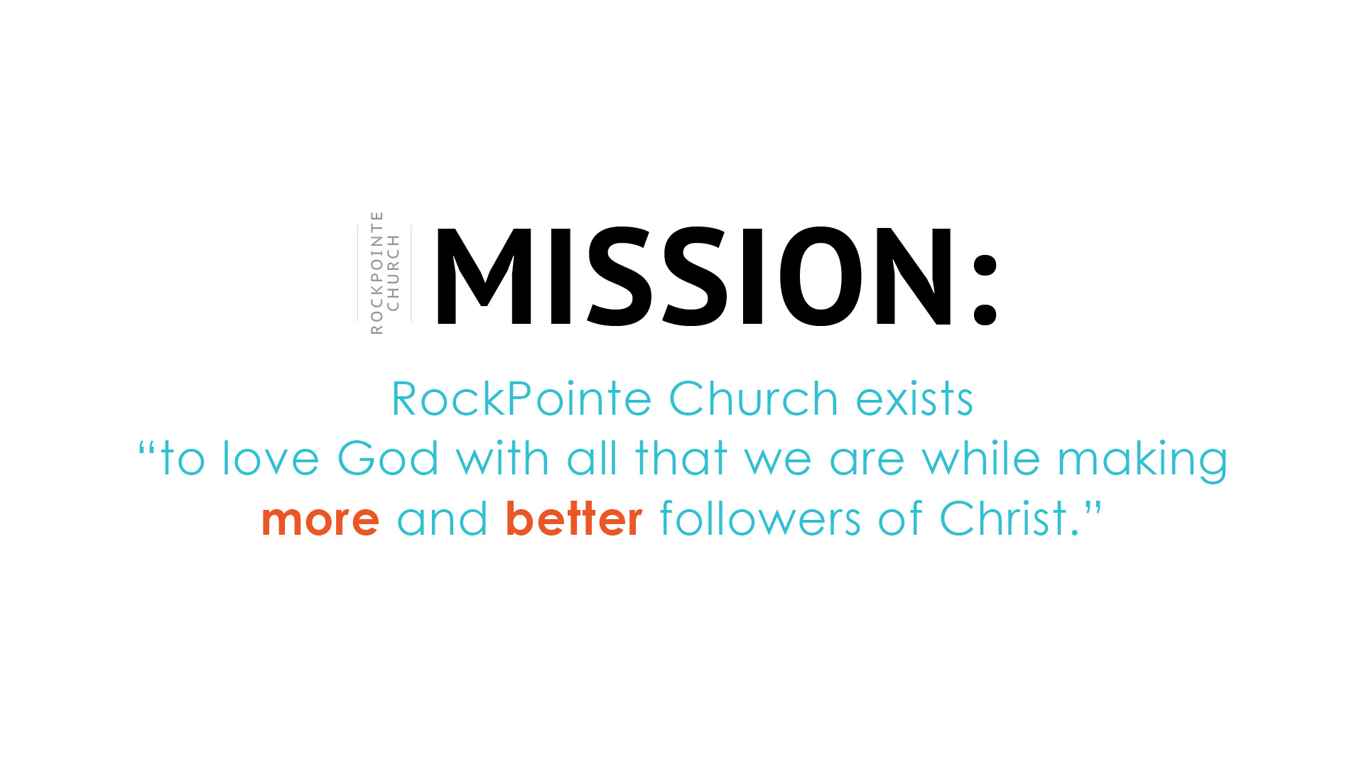 RPC Mission Statement