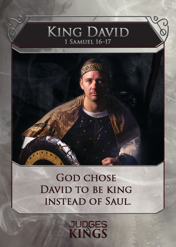 King David Back