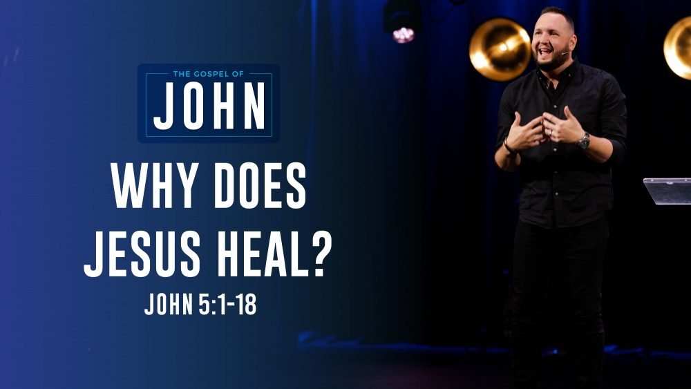 Why Does Jesus Heal? Image