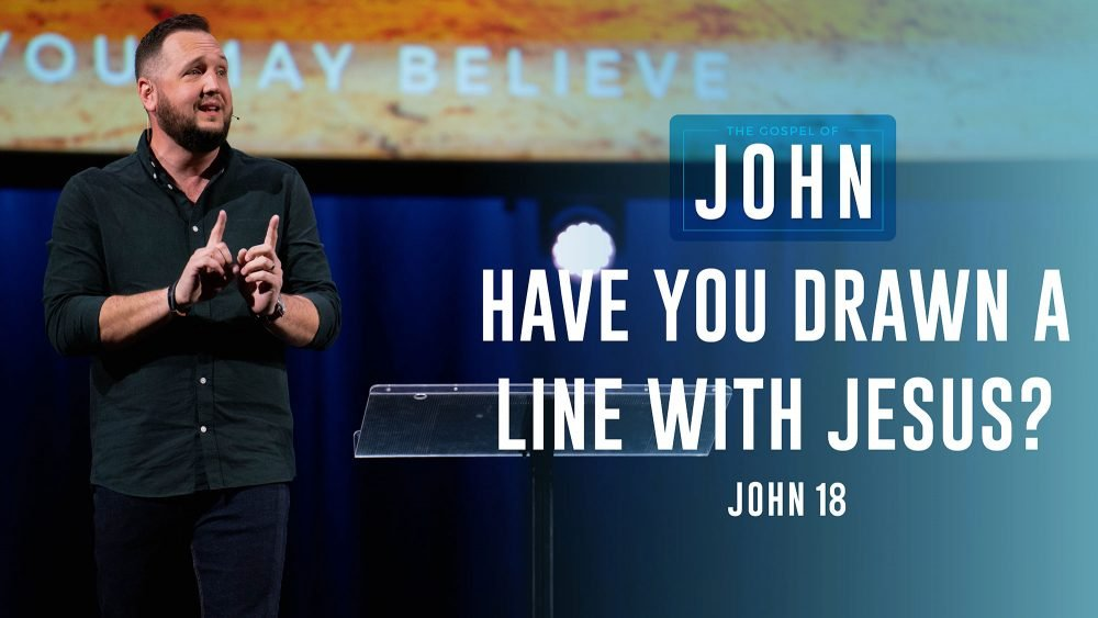 Have You Drawn a Line With Jesus? Image