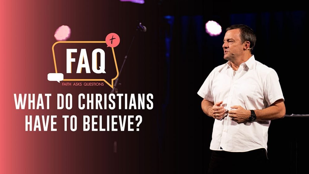 What do Christians have to Believe? Image