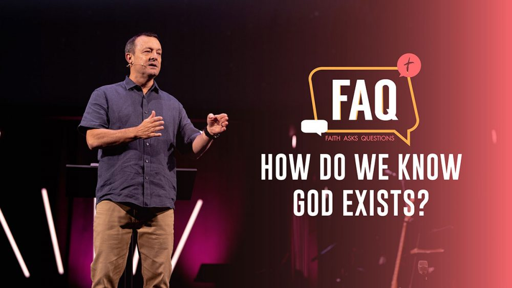 How Do We Know That God Exists? Image